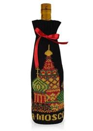 """Подарочный чехол на бутылку ТД-414/17 """"Москва"""" Сиринга-стиль"""